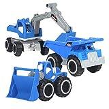 TOYANDONA Camiones para niños, vehículos de Playa, Juguetes de Arena para...
