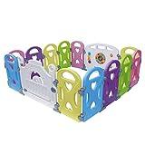 Baby Playpen - Centro de actividades para niños, juego de seguridad en el patio,...