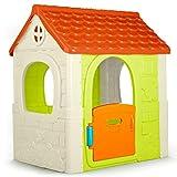 Feber - Fantasy House, casita infantil de juegos con puerta abatible, para jugar al...