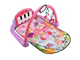 Fisher-Price Kick and Piano Gym New-born Baby Play Mat Suitable from Birth Includes...