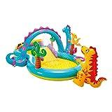 Intex-57135NP Dinoland Play Center-Centro de juegos acuático hinchable, modelo...