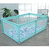 WYQ Parque Infantil Bebe para Uso Interior y Exterior, Colorear Playard Rectangular...