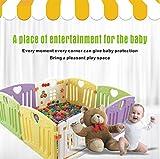 Parque infantil plegable para bebés Juego de bolígrafo plegable para niños Centro...