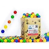 koenig-tom - Bolas de plástico para Piscina de Bolas de niños (200 Unidades, sin...