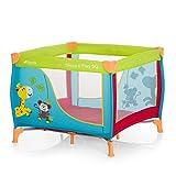 Hauck Sleep N Play SQ - Cuna parque ligero 3 piezas, 90 cm x 90 cm, cuna de viaje con...
