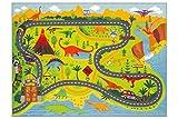 KC Cubs Playtime Collection Dinosaurio Safari Mapa de Ruta Educativo Aprendizaje y...