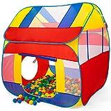 KIDUKU® Tienda de Juegos Infantil 300 Bolas | Piscina de Bolas | Carpa de Tela para...