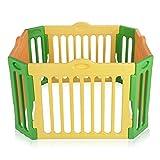 Baby Vivo Parque para Niños Corralito Plegable Robusto Plastico Bebe Barrera de...