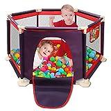 Parque de Juegos Infantil Portátil Lavable Aqua Play Center Valla con malla...