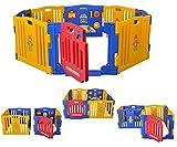 Parque de Bebe XXL 8 Piezas Ibaby Play Twin