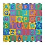 VeloVendo® Alfombra Puzzle Infantiles con Certificado CE & TÜV | Suelo de Espuma...