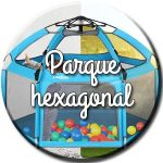 parque infantil hexagonal